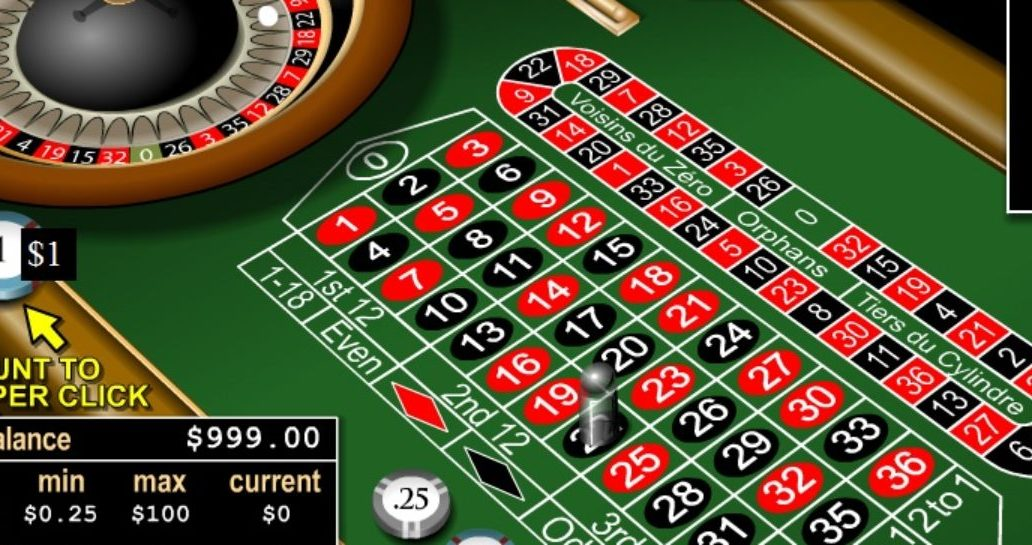 Play 20p Roulette Free Online